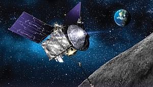 NASA'nın Uzay Aracı Gök Taşında Su Kalıntıları Buldu