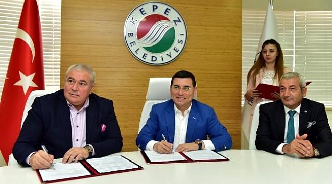 ATSO ile Kepez Belediyesi arasında protokolü İmzaladı