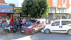 Zincirleme Kaza Yaptı! Kiralık Aracı Bırakıp Kaçtı!
