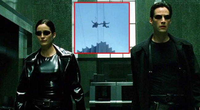 Matrix 4 filminin çekimleri sızdırıldı