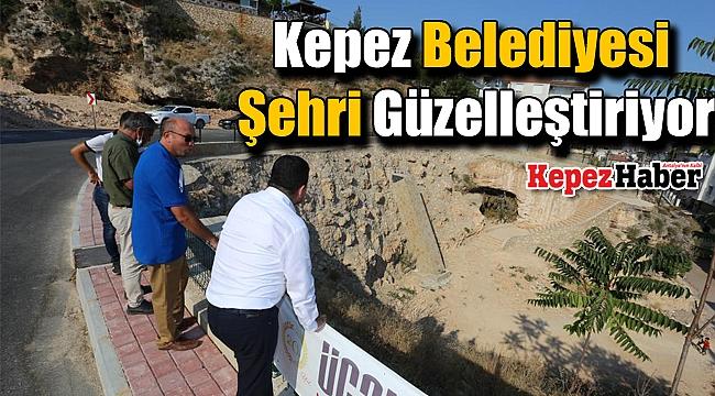 Kepez Belediyesi Şehri Güzelleştiriyor