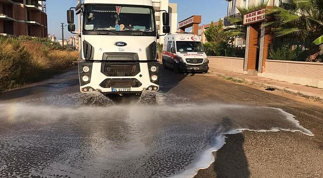 Kepez'in Caddeleri Pırıl Pırıl Oluyor