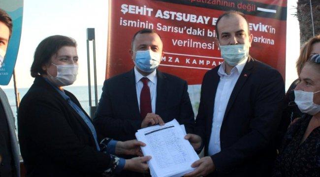 Antalya'da Park Hakkında isim tartışması