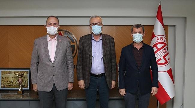 Kepez Belediyespor'dan Mustafa Yılmaz'a ziyaret