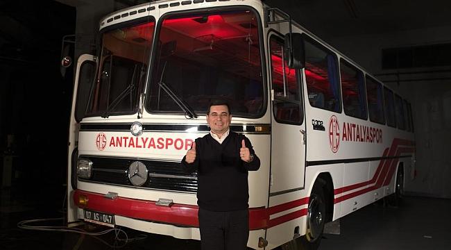 Hakan Tütüncü'den Antalyaspor'a Destek