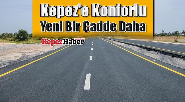 Kepez'e Konforlu Yeni Bir Cadde Daha