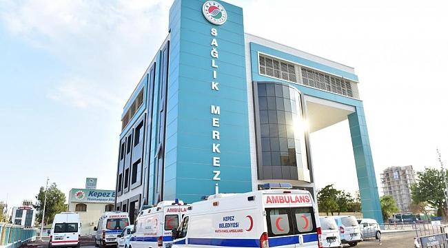 Kepez Belediyesinden VIP Sağlık Hizmeti