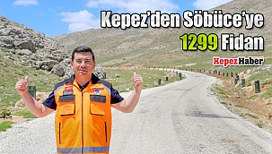 Kepez'den Söbüce'ye 1299 Fidan