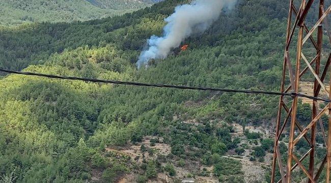 Antalya'dan Sevindiren Haber! Yangın Kontrol Altında