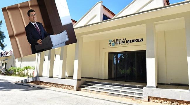 Antalya Bilim Merkezi İlmek İlmek Dokundu!